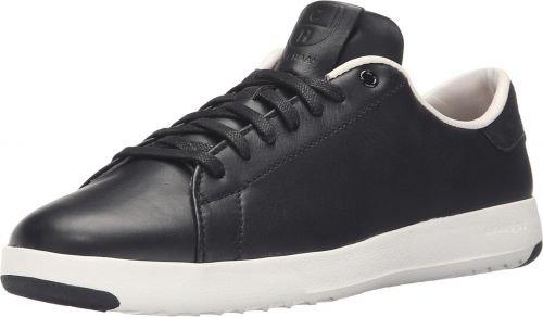 Cole Haan Grand Sport Leren Veter Os, Damen Sneaker Optic Wit / Wht Schwarz