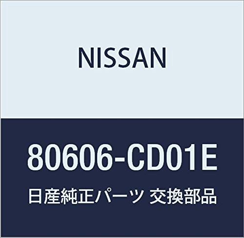 Genuine Nissan OEM 80606-CD01E HANDLE ASSY - FRONT DOOR OUTSIDE, ()