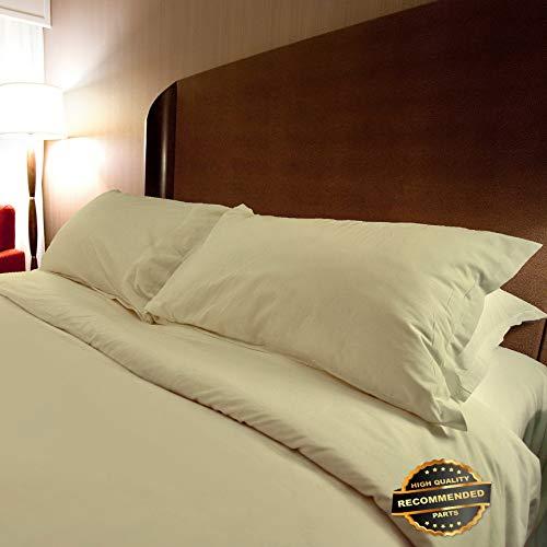 Ellyly Premium New White Comforter Alone or with Color Duvet Cover 4 Piece Bedroom Bed Set | Style CMFTR-120219561 | King Comforter-Duvet Kit