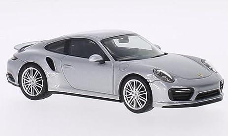 Porsche 911 (991/2) Turbo Coupe, silver, 0, Model Car