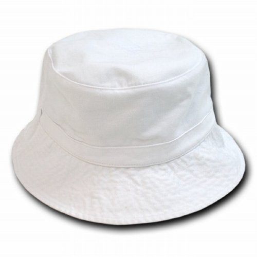 white polo style bucket hat size large xl fishing cap sun hats