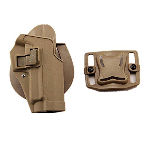 haoYK Tactical Airsoft Pistol Concealment Draw Right Handed Paddle Waist...