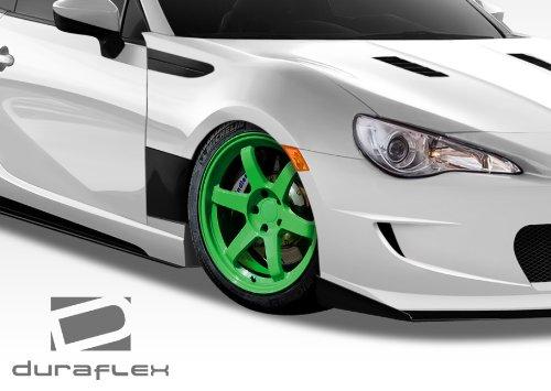 Fenders Gt Concept Duraflex (2013-2015 Scion FR-S Subaru BRZ Duraflex GT Concept Fenders - 2 Piece)