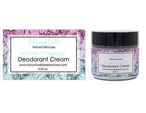 Activated Charcoal Deodorant Cream