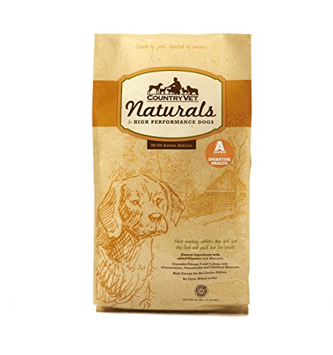 Country Vet Naturals Active 30/20 Protein To Fat Formula High Performance Sporting Dog Food 35 Pounds (Best Hunting Dog Food)