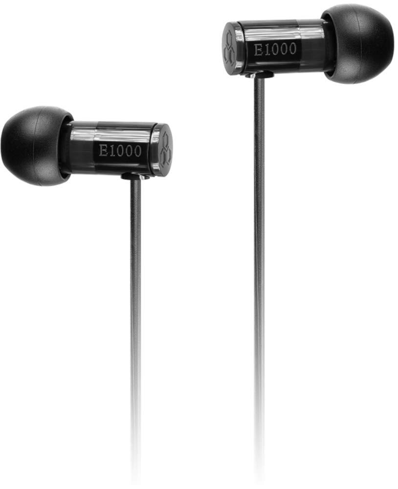 final E1000 In Ear Isolating Earphones - Black