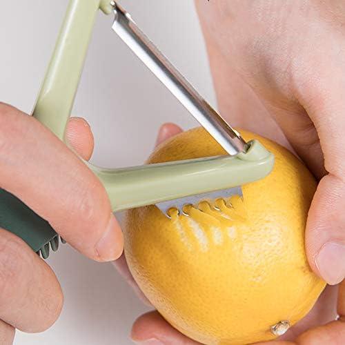 FSGD Home Küche Kartoffeln Schäler, Gemüse Peeler, für Peeling Kartoffel, Karotten und alle Arten von Gemüse und Obst, geeignet für Rechts- oder Linkshänder