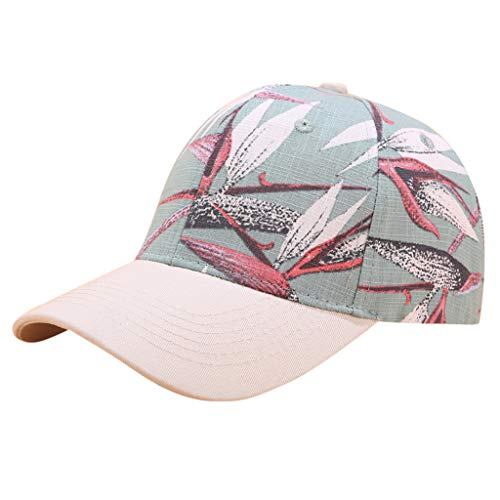 NEARTIME Fashion Baseball Hats-Unisex Cotton Casual Printing Denim Hat Cotton Adjustable Visor Sports Cool Caps