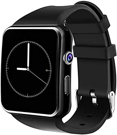 Welrock X6 Bluetooth Smart Watch Featured with Sim Card Slot Touch Screen for All 2G, 3G, 4G Phone with Camera Activity Trackers and Fitness Band