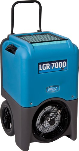 Dri-Eaz LGR 7000XLi Commercial Dehumidifier with Pump, Industrial, Durable, Portable, Blue, F412, Up to 29 Gallon Water Removal per Day
