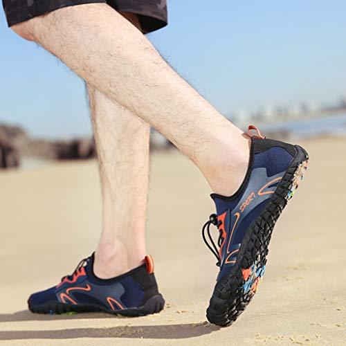 Creek Da dry Estivi Donna Piscina Spiaggia Sandali scarpa Grigio Con Unisex Scarpe Diving Light Quick Tacco Vovotrade Sneakers f6wPq1z