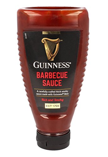 Guinness Rich and Smoky Barbecue Sauce with Guinness Beer, 330g