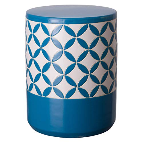 Emissary Home & Garden 12028TQ Stool, Turquoise