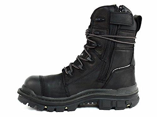 Caterpillar Men's Mortise 8'' Waterproof Work Boot Composite Toe Black 11.5 D(M) US by Caterpillar (Image #5)