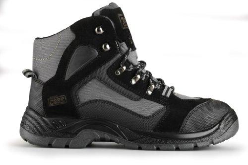 Hardcore Sicherheitsschuhe  Tektite Hiker S1P - zapatos de seguridad, color Negro, talla 43 EU (9 UK)