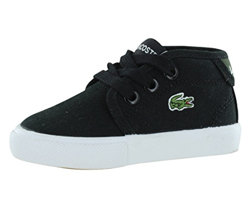 Lacoste Ampthill WD 2 Casual Chukka Boot , Black/Green, 10 M