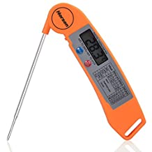 Horsen Folding Instant Read Digital Meat and Food Thermometers,Ultra Fast & Accurate.