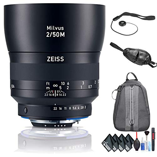 ZEISS Milvus 50mm f/2M ZF.2 Macro Lens for Nikon F for sale  Delivered anywhere in USA