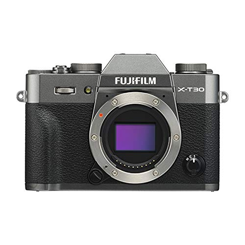 (Fujifilm X-T30 Mirrorless Digital Camera - Charcoal Silver (Body Only))