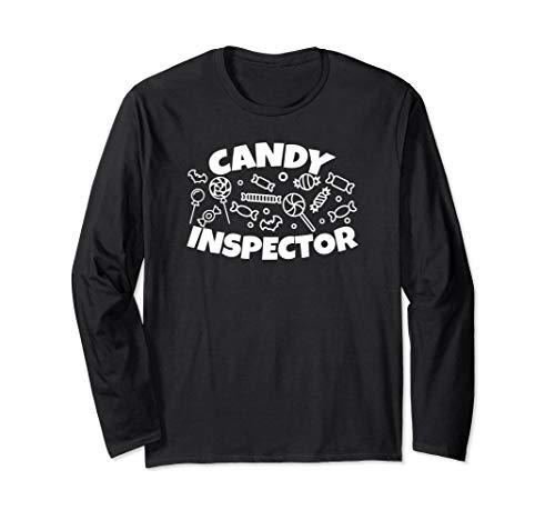 Candy Inspector - Halloween Long Sleeve T Shirts -
