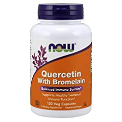 NOW Supplements, Quercetin with Bromelai...
