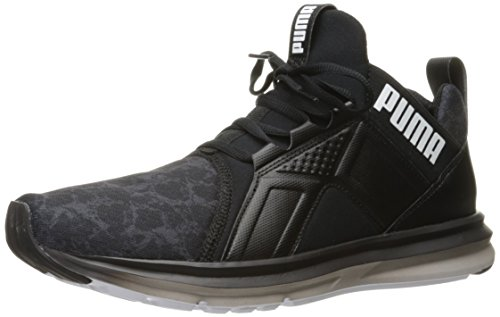 PUMA Mens Enzo Liquid Cross-Trainer Shoe Puma Black/Puma White utPlclIVk