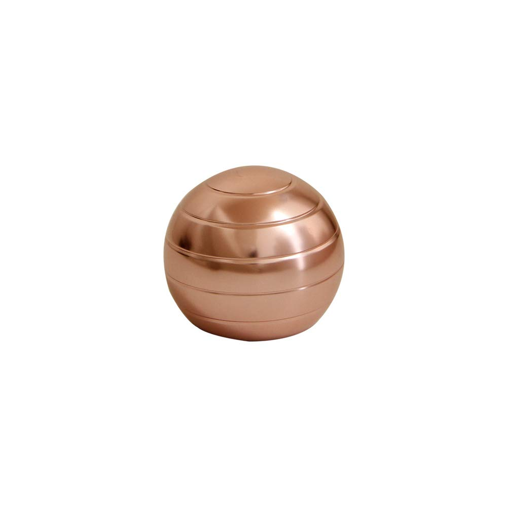 Urchins' Family Decompression Spinners Ball - Kinetic Desk Toys (Rose Golden, Small)