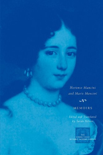 Memoirs (The Other Voice in Early Modern Europe)