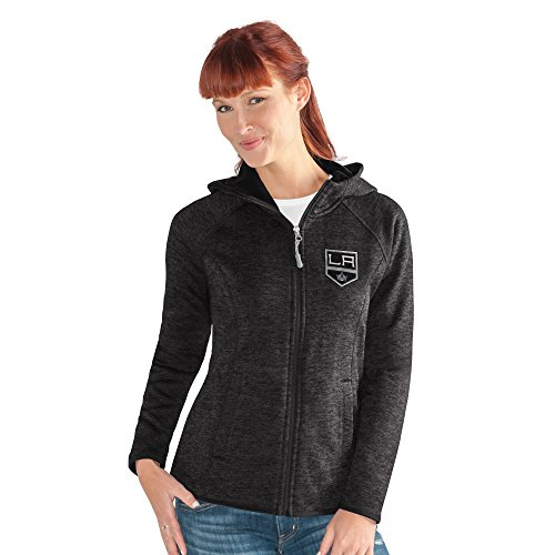 NHL Los Angeles Kings Women's Kick Off Full Zip Jacket, Large, (Los Angeles Kings Team Fleece)