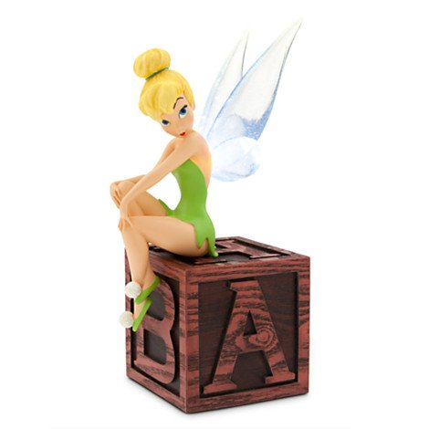 Disney Figurine - Tinker Bell on Block Party- Light Up