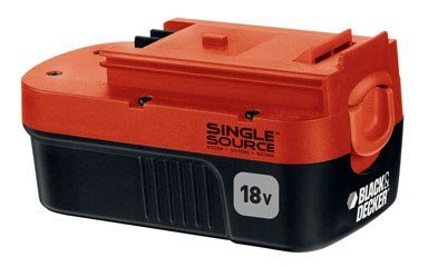Black & Decker HPB18-OPE 18V Ni-Cd Slide Battery
