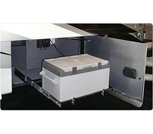 RV Trailer MOR/stor 225 Pound Weight Capacity Refrigerator/ Freezer Slide - Freezer Fridge Slide