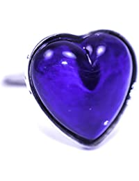 Sweet Heart Shaped Mood Ring (Adjustable Size)