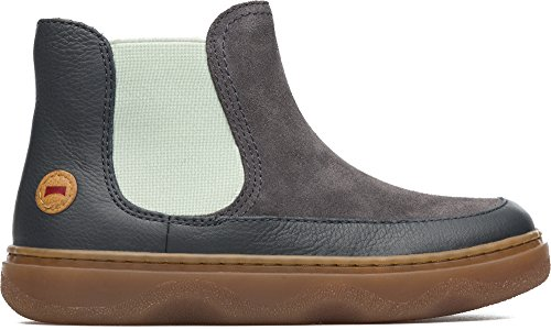 Camper Kids Girls' Kiddo K900097 Slip-on, Grey, 35 EU/3.5 M US Big Kid by Camper