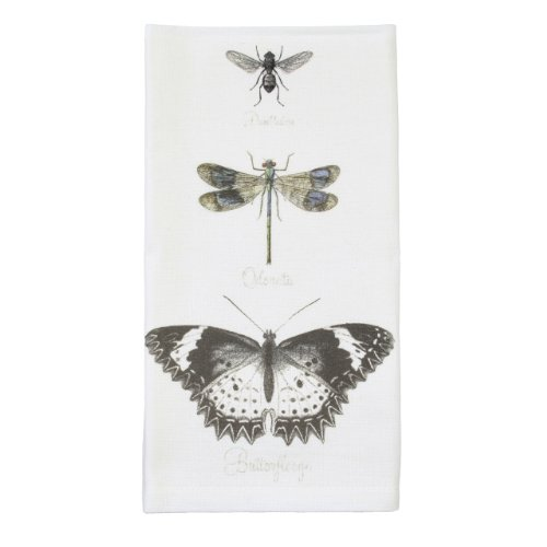 Montgomery Street Butterfly, Dragonfly and Bee Cotton Napkin, Set of 4