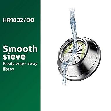 Philips Viva Collection HR1832/00 1.5-Litre 500-Watt Juicer (Ink Black) 13