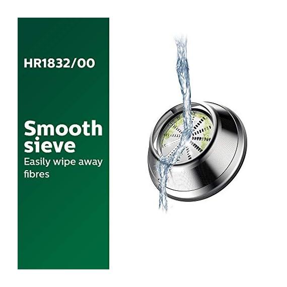 Philips Viva Collection HR1832/00 1.5-Litre 500-Watt Juicer (Ink Black) 6