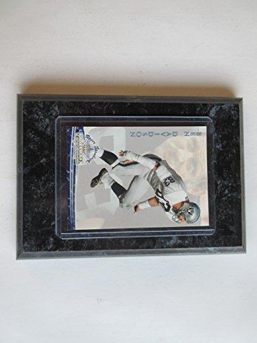 BEN DAVIDSON OAKLAND RAIDERS 1994 STAUBACH PLAYER CARD MOUNTED ON A