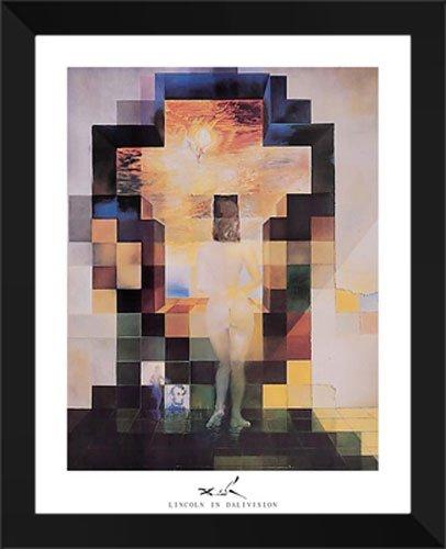 Lincoln en Dalivision 26 x 32 cuadro de Metallica de Salvador Dalí: Amazon.es: Hogar