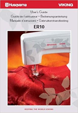 Husqvarna Viking ER10 Users Guide Sewing Machine COLOR Comb ...