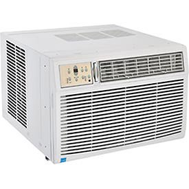 230 208V Window Air Conditioner With Heat  25K Btu Cool  16K Btu Heat