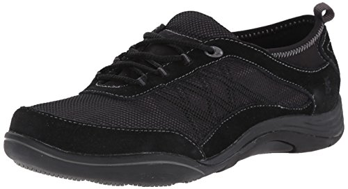 Grasshoppers Women Explore Lace Fashion Sneaker Black