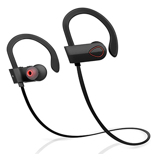Bluetooth Headphones, Wireless Earbuds for Running, Noise Cancelling Headsets for Workout, Sports Earphones with Mic…