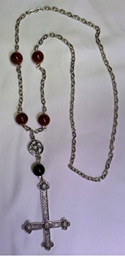 Satanic Rosary Formal Necklace -