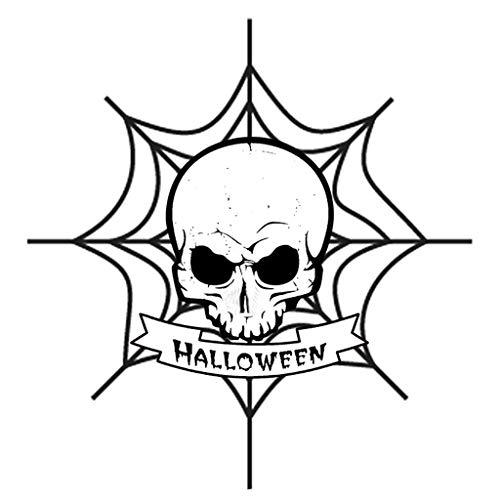 Dergo ☀ Cutting Dies, Halloween Metal Cutting Dies Embossing Stencil Card Album Scrapbooking DIY Punch (A)