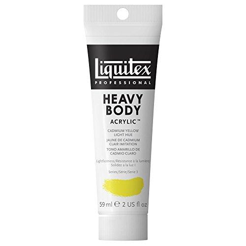 Liquitex Professional Heavy Body Acrylic Paint 2-oz tube, Cadmium Yellow Light Hue