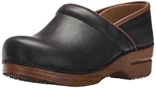 Dansko Women's Professional Clog, Grey Scrunch, 39 M EU (8.5-9 US) by Dansko