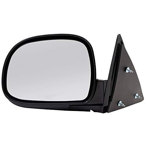 Drivers Manual Side View Mirror Below Eyeline Replacement for Chevrolet GMC Isuzu Pickup Truck SUV 8151508490