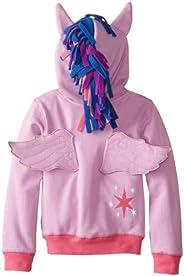 My Little Pony Girls Little Girls Zip-up Hoodie