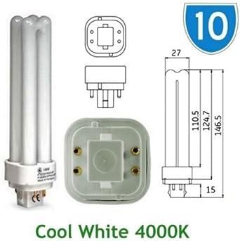 GE F18DBX//SPX27//4P F18DBX//827//4P//LL BIAX-D//E 827 WARM WHITE